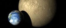 La galaxia y los planetas