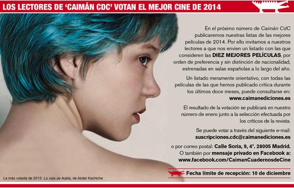 Listado críticas 2014 Caimán CdC