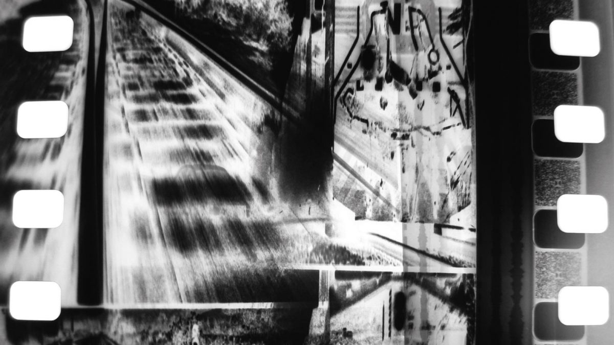 Train Again (Peter Tscherkassky). CANNES 2021- Quincena de los realizadores (Programa Cortos 1)